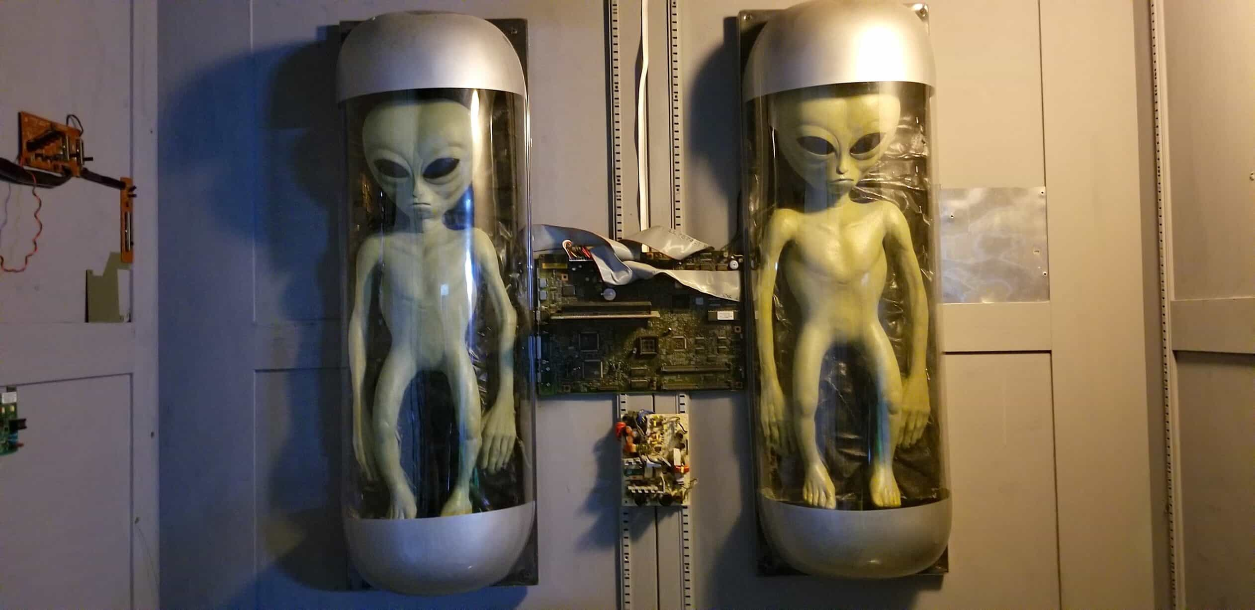 Alien Display in Roswell New Mexico