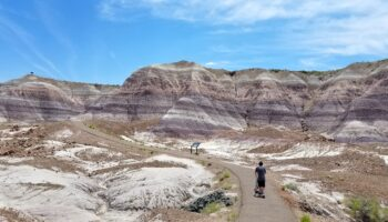 Blue Mesa Trail Arizona