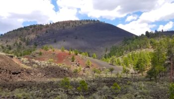 volcano Sunset Crater National Monument