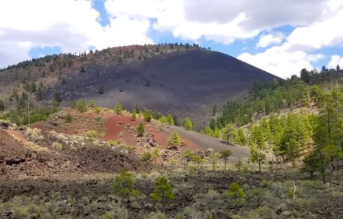 Walk Through Fields of Volcanoes at Sunset Crater National Monument