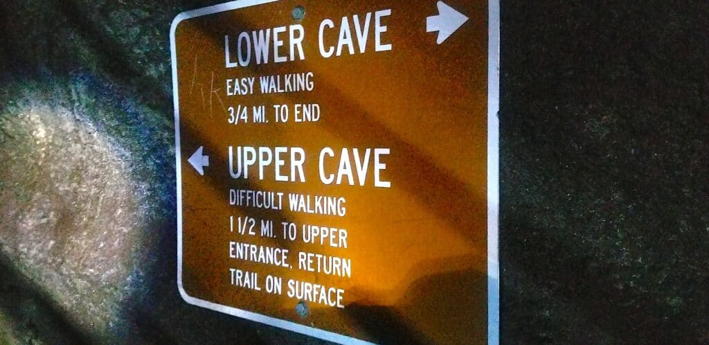 Ape Cave Trail Sign Washington