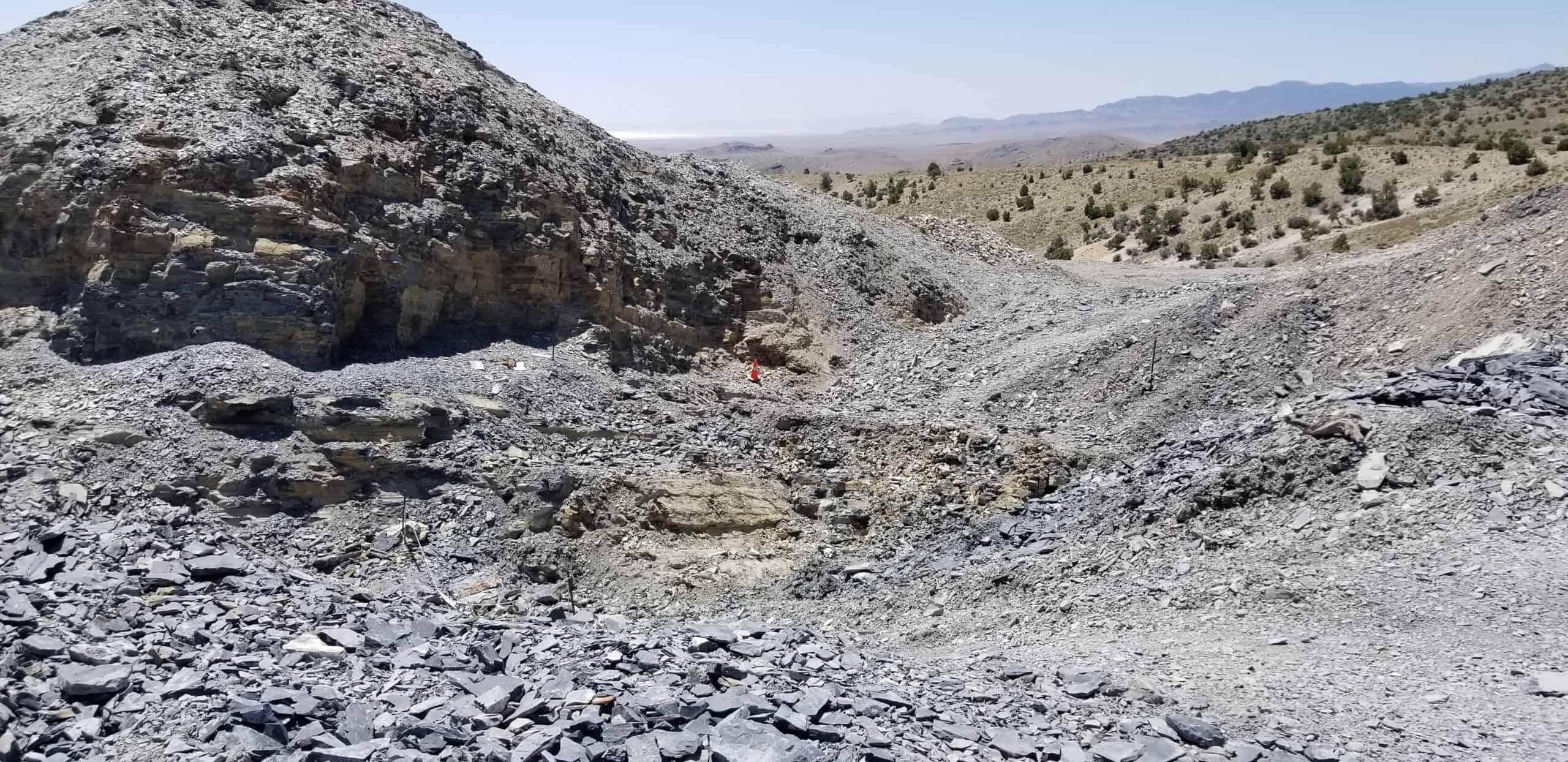 U Dig Trilobite Quarry digging for fossils in Utah