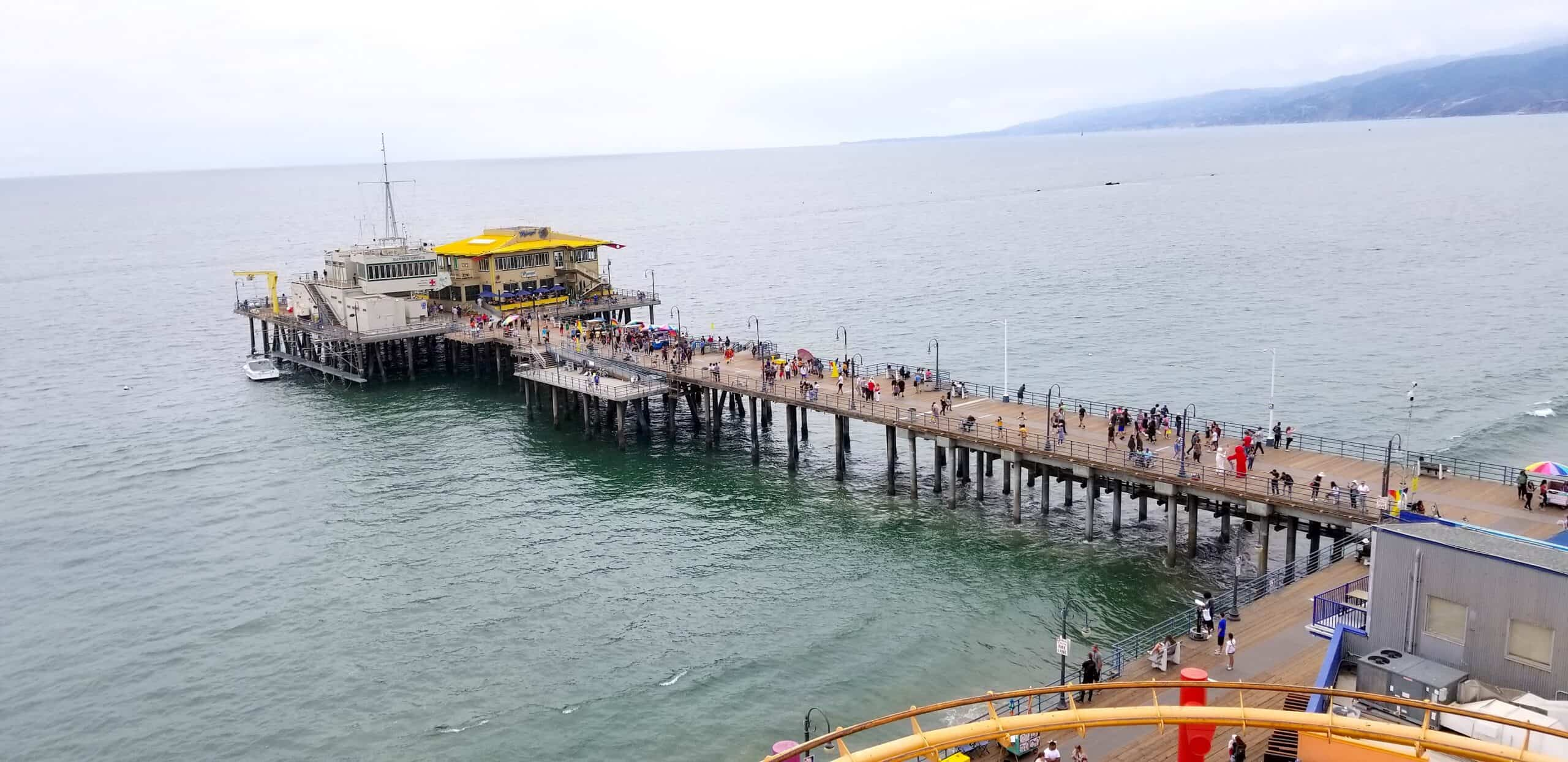 Santa Monica Pier from the ferris wheel