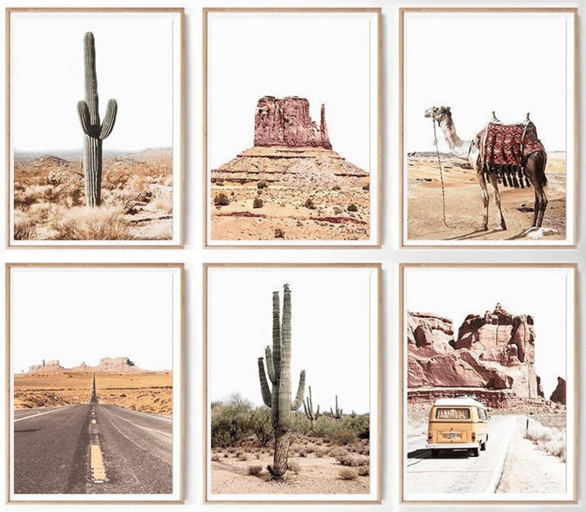 arizona desert boho art