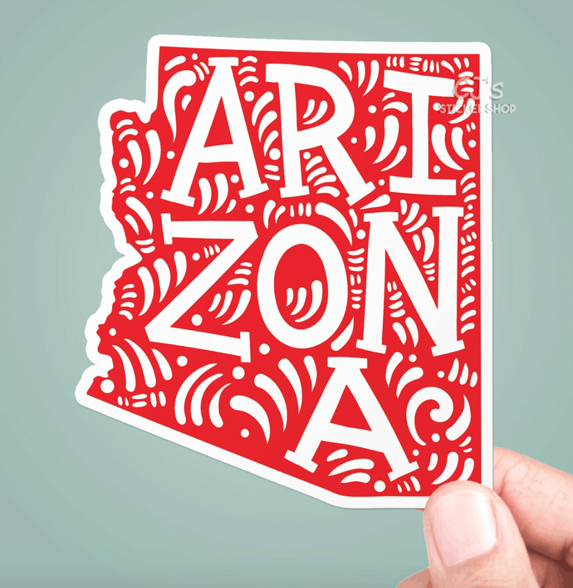 arizona vinyl decal sticker