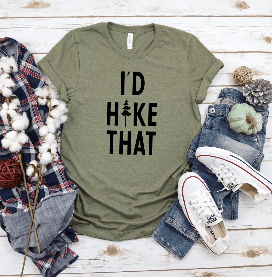 hiking tshirt