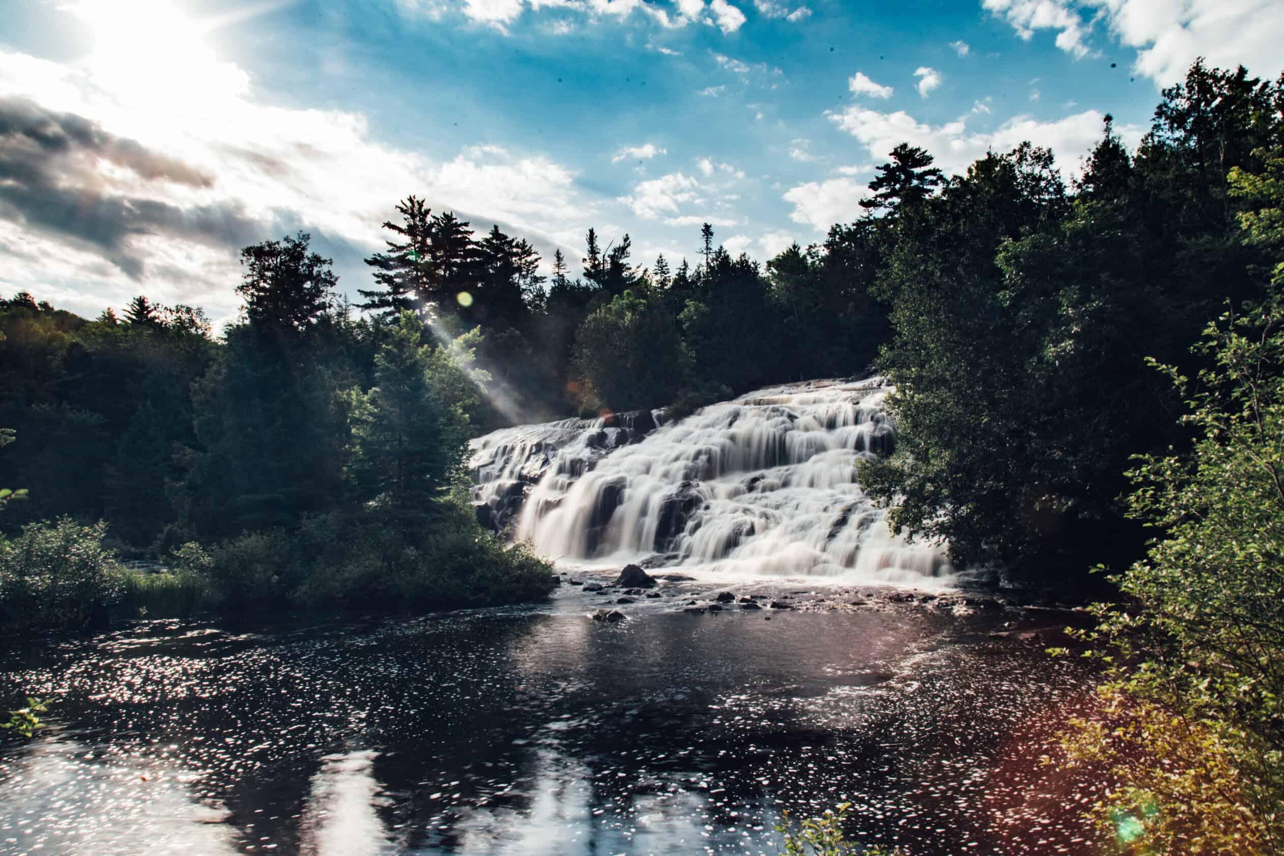 Bond Falls Upper Peninsula Michigan