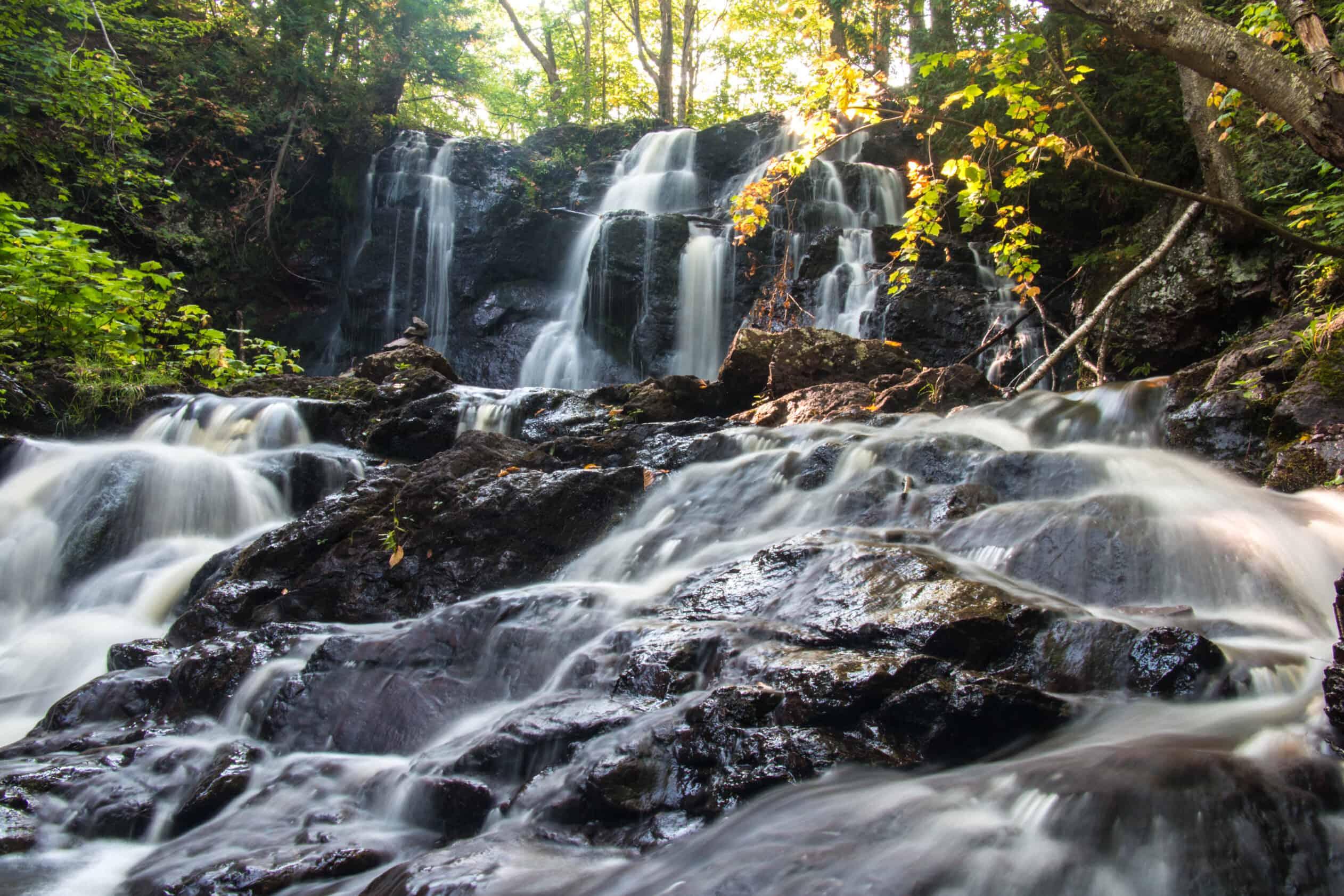 Hungarian Falls Upper Peninsula Michigan