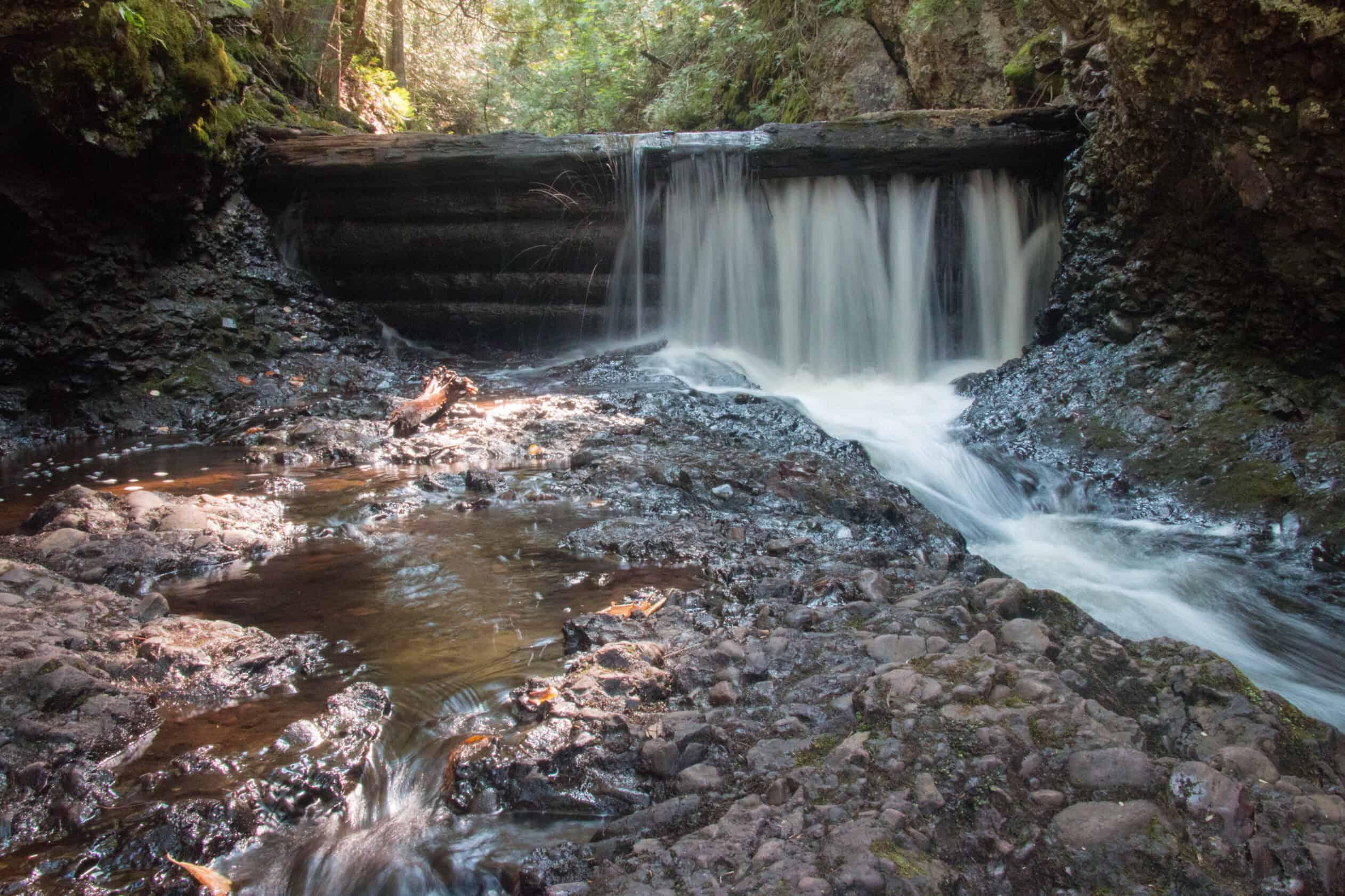 Manganese Falls Upper Peninsula Michigan