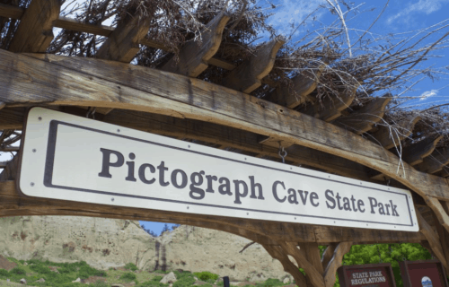 A Quick Stop at Pictograph State Park on our Road Trip thru Montana