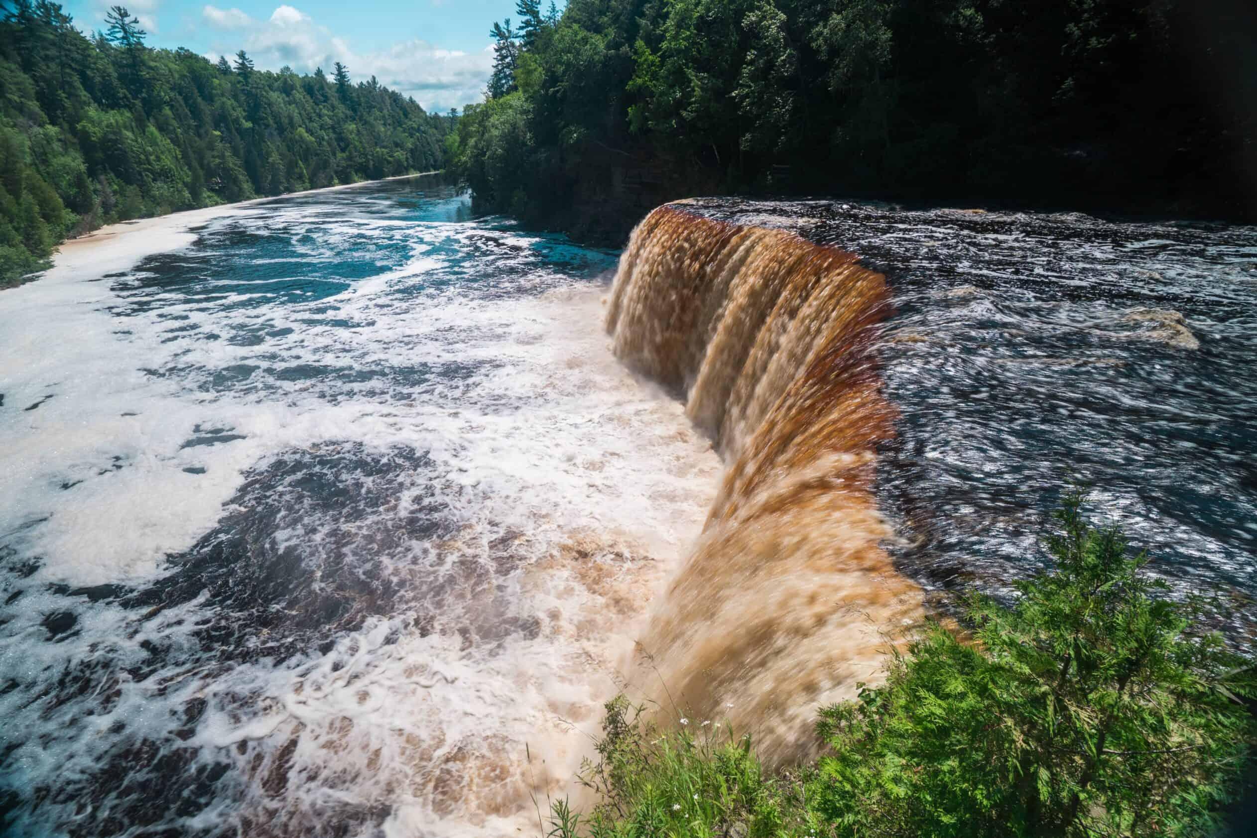 Tahquamenon Falls Michigan