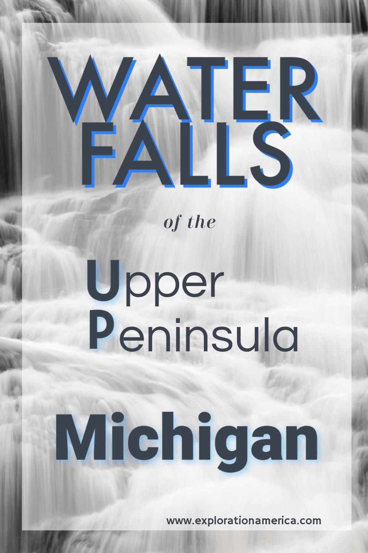 Waterfalls in the Upper Peninsula