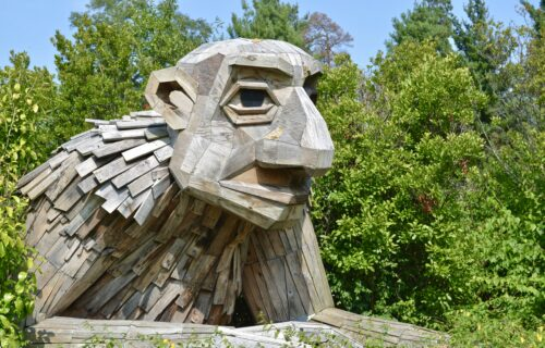 Giant Trolls at the Morton Arboretum in Illinois