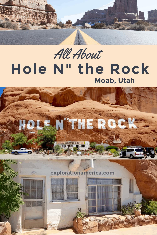 Hole in the Rock Moab Utah