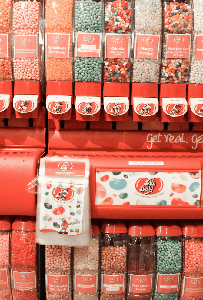 Jelly Belly machines