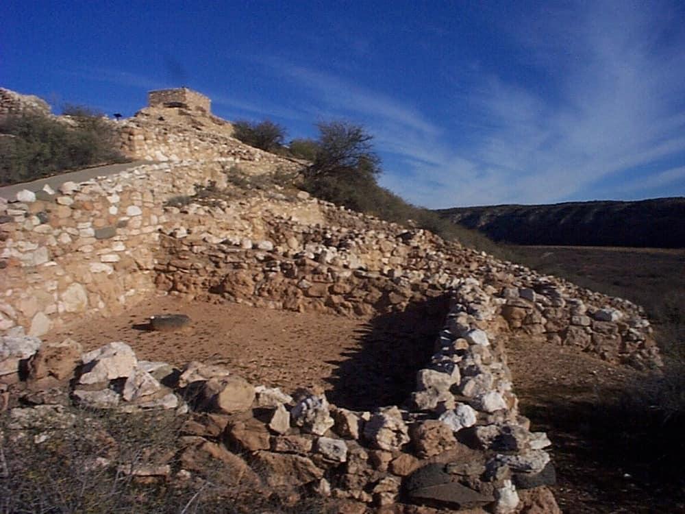 view of Tuzigoot National Park Ruins