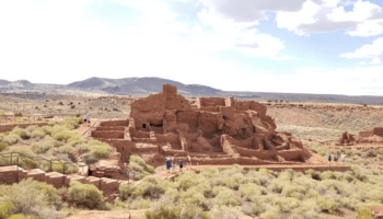 view of Wupatki National Monument