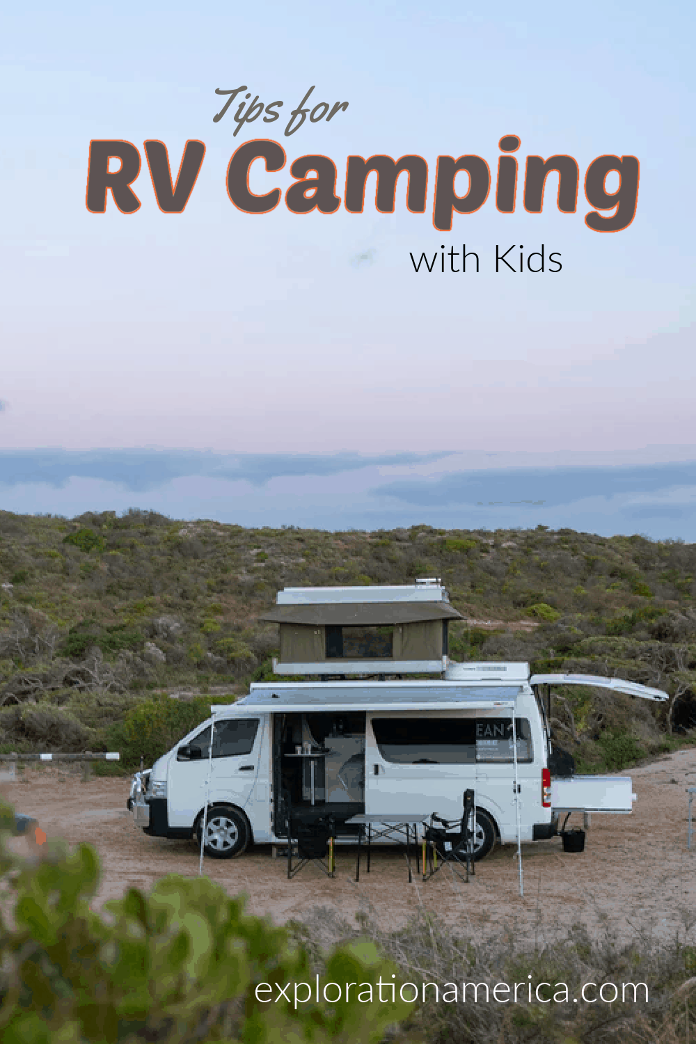 open RV camping with kids
