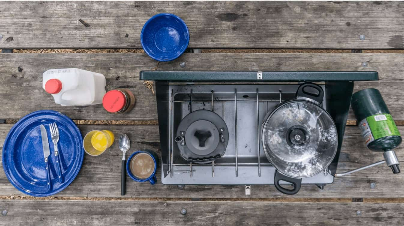 kitchen camping gear