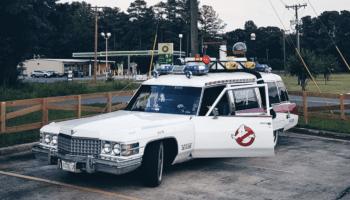 Ghostbusters Ectomobile fan car