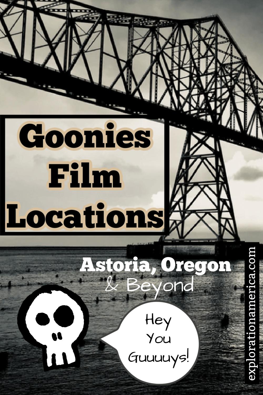 Astoria Oregon Goonies Film Locations